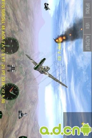 飛行之翼 精簡版 FighterWing Free v1.34-Android飞行游戏類遊戲下載