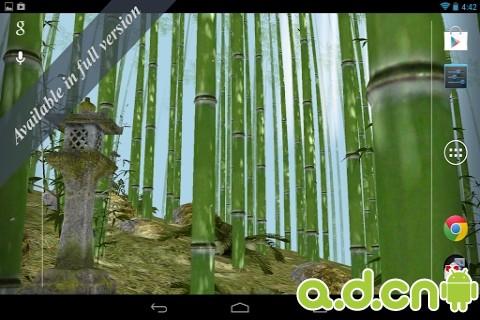 3d竹林动态壁纸 免费版