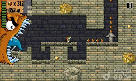 蠕蟲狂奔 修改版 Worm Run v1.0-Android动作游戏類遊戲下載