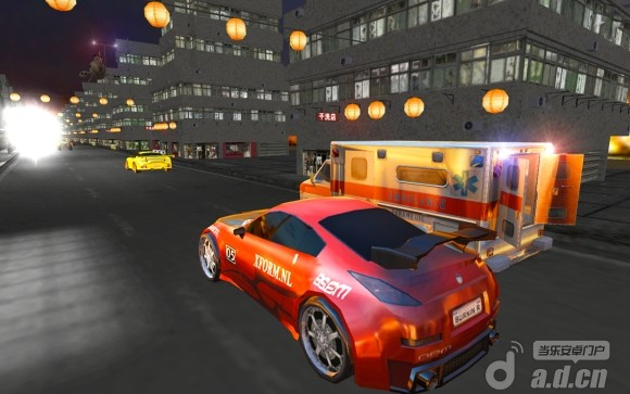 救護車街道狂飆Ambulance Street Gun Racer v1.0-Android竞速游戏類遊戲下載