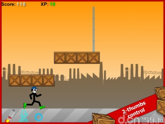 火柴人跑酷 精简版 Stick Run Mobile Free