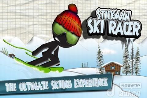 火柴人竞速滑雪 修改版 Stickman Ski Racer