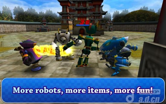 機器人推塔 G.R.B v1.0.0-Android格斗游戏類遊戲下載