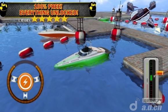 遊艇停泊 Boat Parking 3D Driving Ship 2 v1.2-Android益智休闲類遊戲下載
