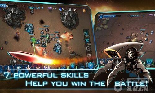 銀河塔防 Galaxy Defense v1.1.3-Android策略塔防類遊戲下載
