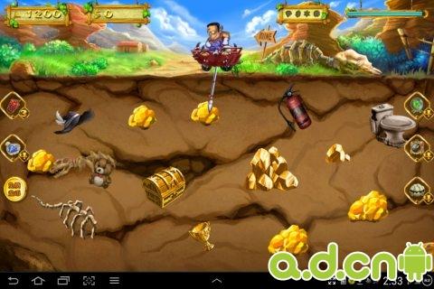 新黃金礦工 New Gold Miner v2.0.10-Android益智休闲類遊戲下載