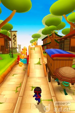 忍者跑酷 Ninja Kid Run - Free Fun Game
