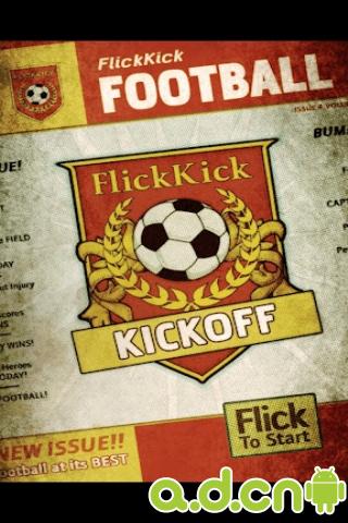手指任意球 Flick Kick Football Kickoff