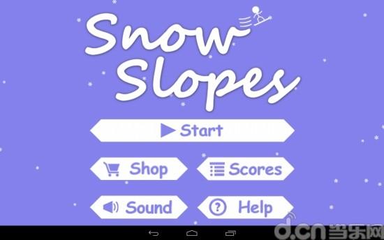 玩免費體育競技APP|下載火柴人滑雪 精简版 Snow Slopes Free app不用錢|硬是要APP
