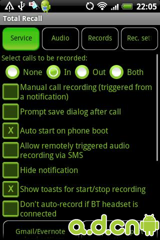 通话录音完整版 Total Recall Call Recorder