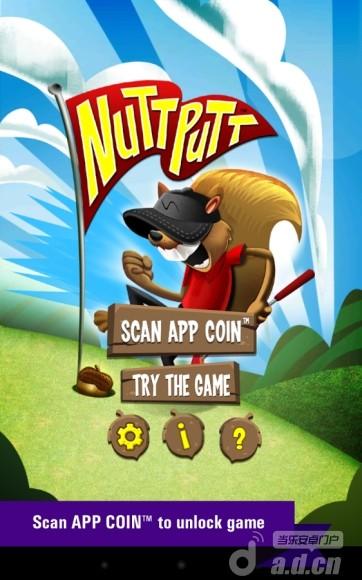 松鼠高尔夫 Nutt Putt - App Coin